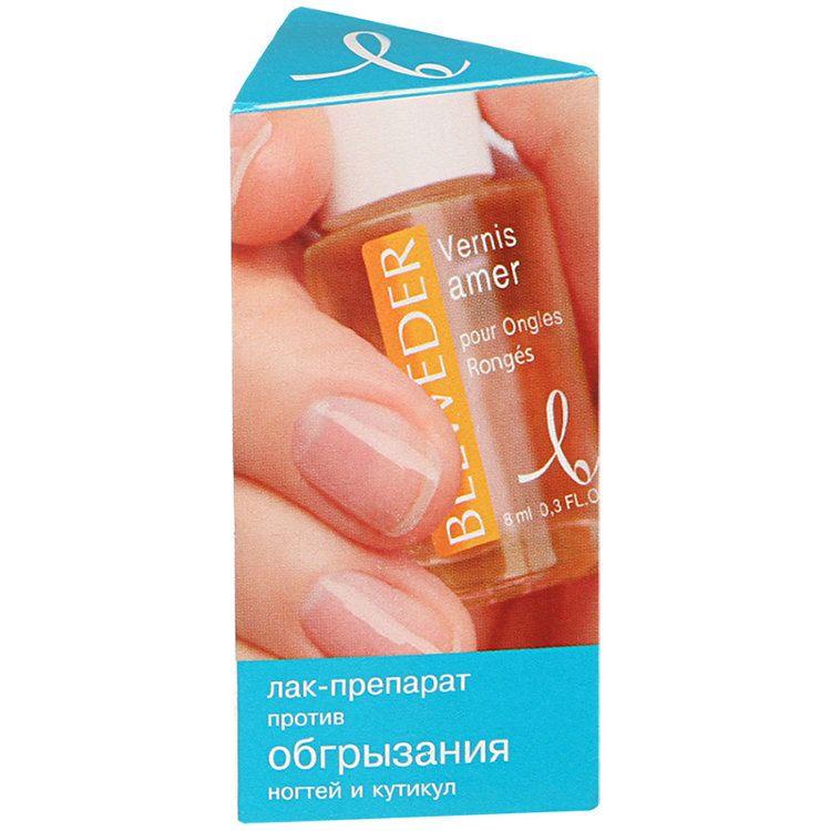 фото упаковки Belweder Лак-препарат против обгрызания ногтей и кутикул