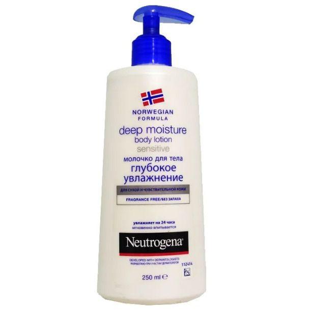 фото упаковки Neutrogena Норвежская формула Молочко для тела Глубокое увлажнение