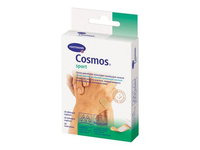 Пластырь Cosmos Sport, пластырь медицинский, пластинки, 20 шт.