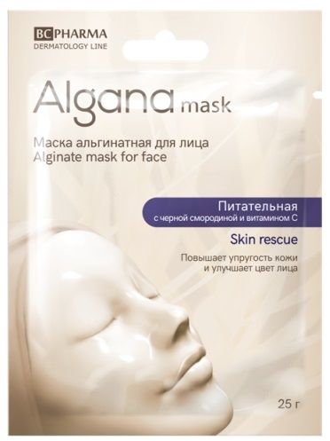 фото упаковки Algana Маска для лица альгинатная питательная