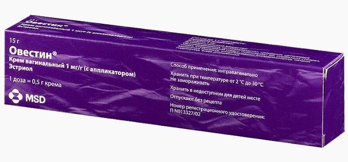 фото упаковки Овестин