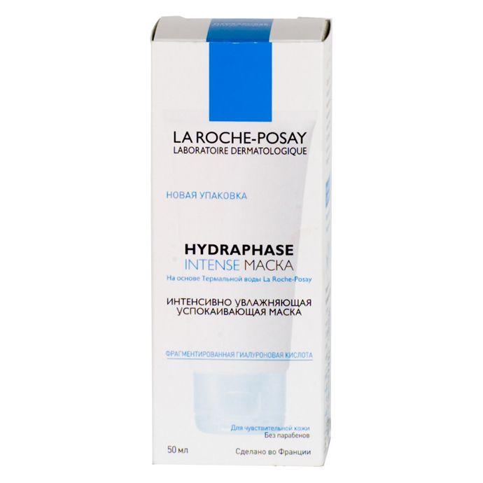 фото упаковки La Roche-Posay Hydraphase Intense интенсивно увлажняющая маска