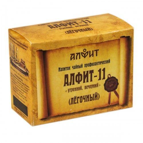 фото упаковки Алфит-11 фитосбор легочный