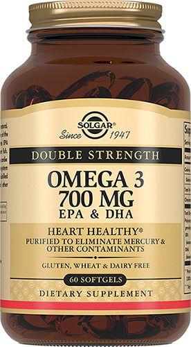 фото упаковки Solgar Двойная Омега-3 700 мг ЭПК и ДГК