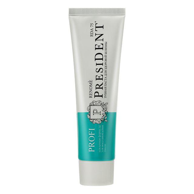 фото упаковки PresiDent Profi Renome зубная паста 75 RDA