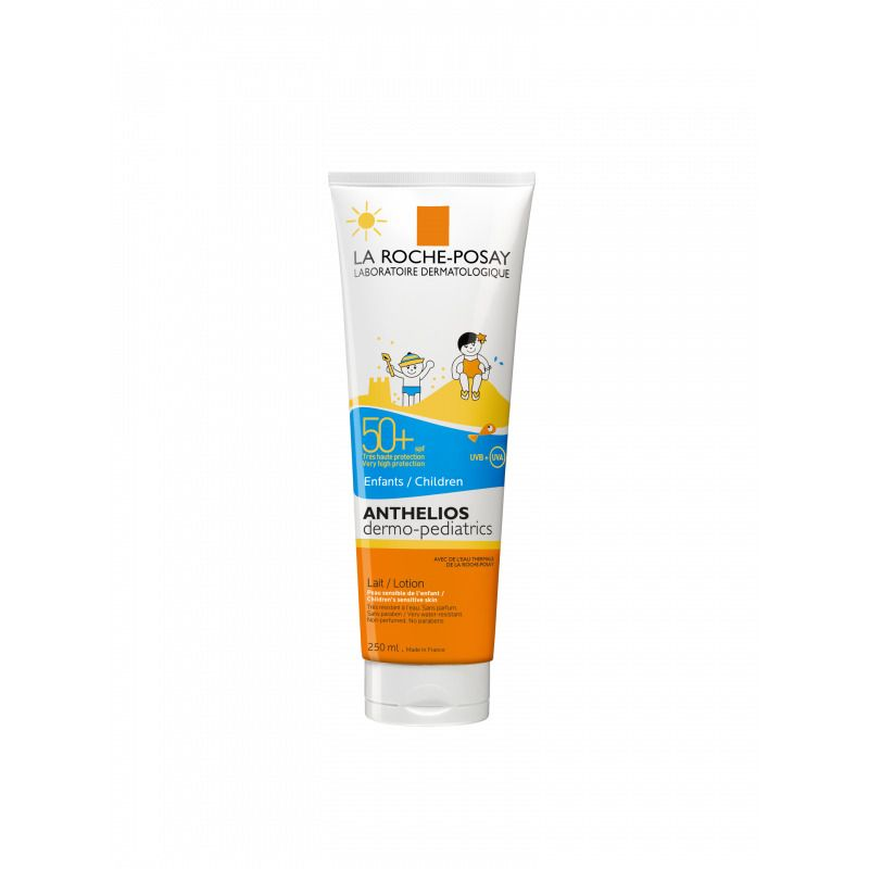 фото упаковки La Roche-Posay Anthelios SPF50+ молочко солнцезащитное для детей