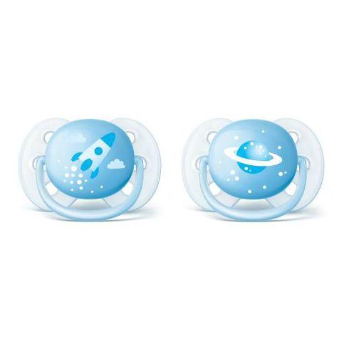 фото упаковки Соски-пустышки Philips Avent Ultra Soft