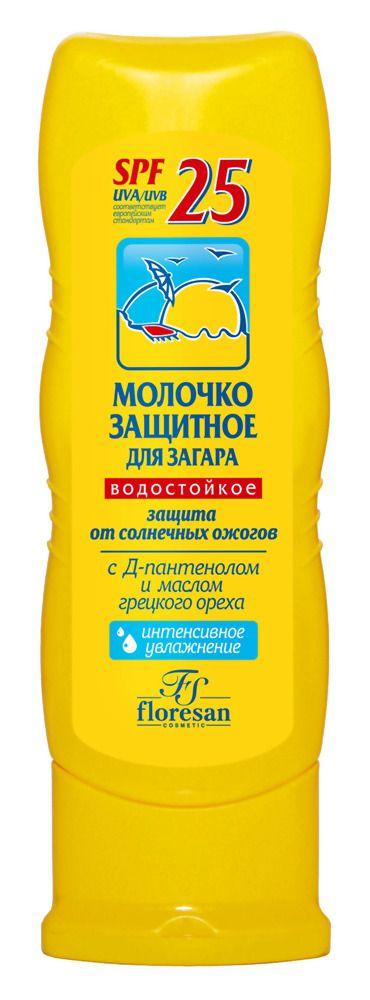 фото упаковки Floresan Молочко защитное для загара SPF25