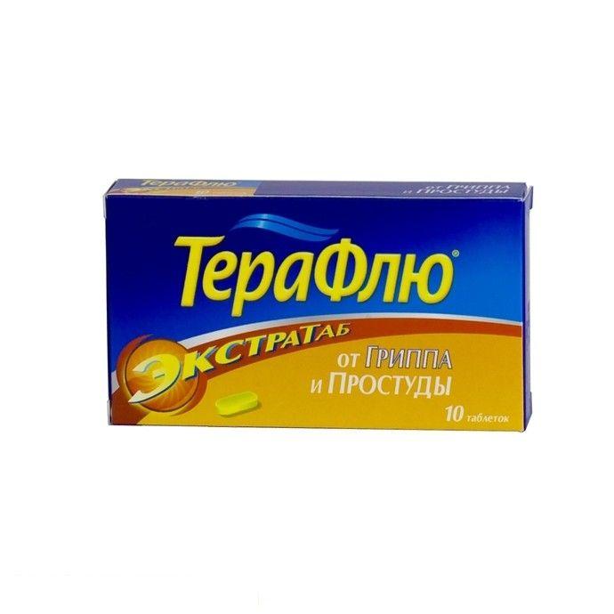 фото упаковки ТераФлю Экстратаб