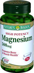 фото упаковки Natures Bounty Магний 500 мг