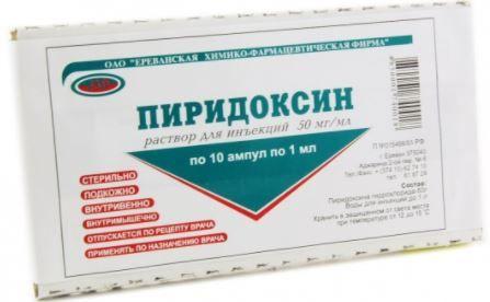 фото упаковки Пиридоксин