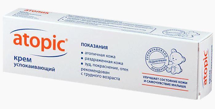 фото упаковки Atopic крем успокаивающий