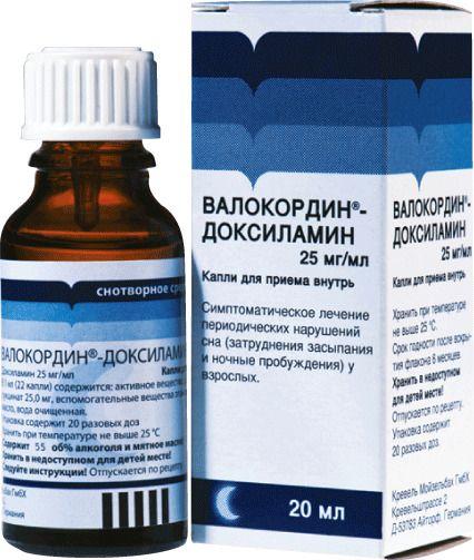 фото упаковки Валокордин-Доксиламин