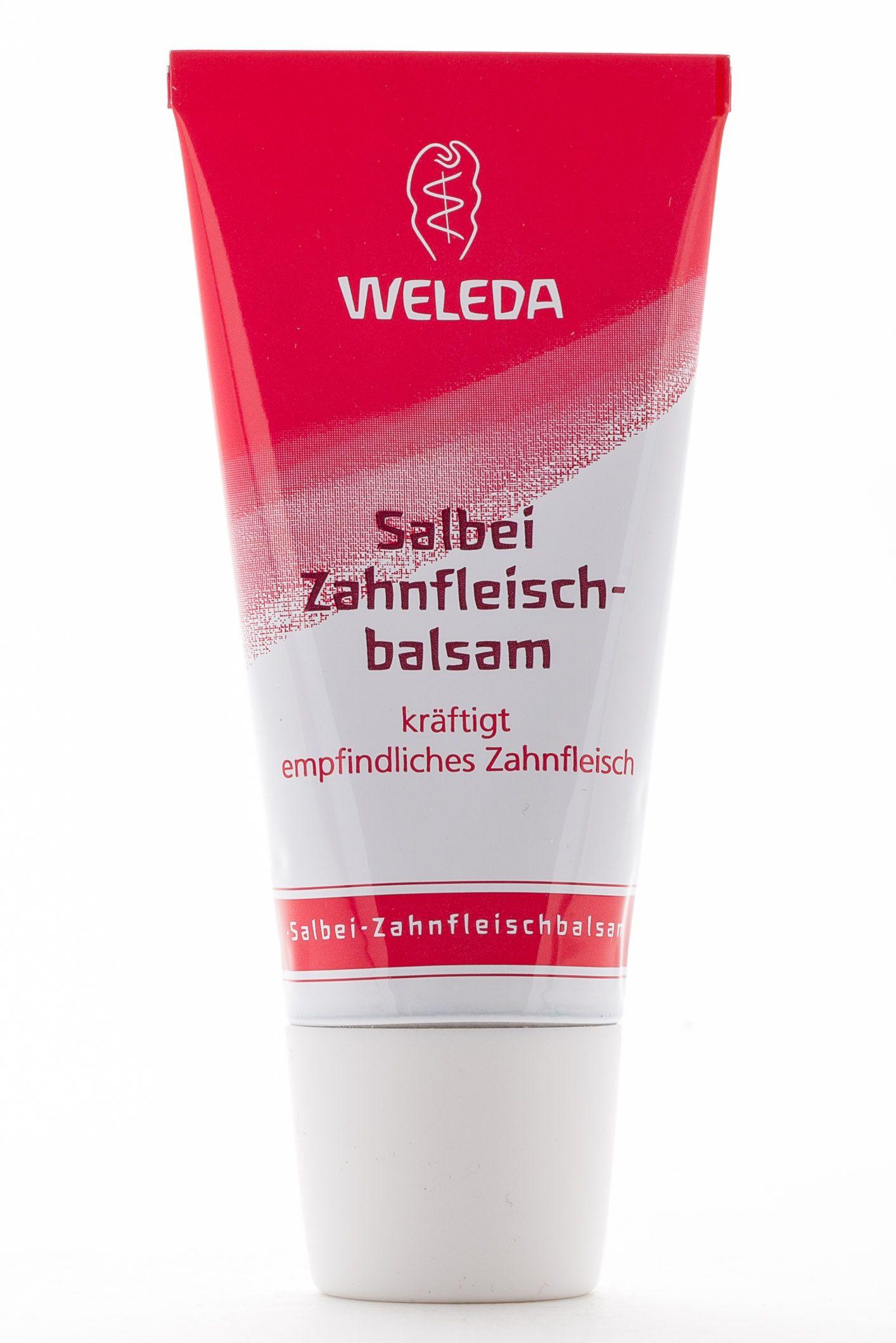 фото упаковки Weleda Бальзам для десен с шалфеем