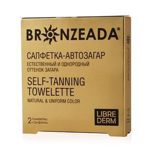 фото упаковки Librederm Bronzeada Салфетка-автозагар