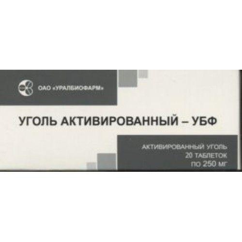 фото упаковки Уголь активированный-УБФ