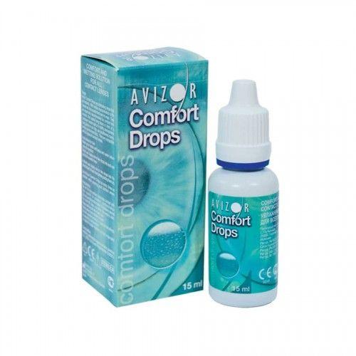 фото упаковки Avizor Comfort Drops Капли для линз