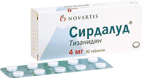 Сирдалуд, 4 мг, таблетки, 30 шт.