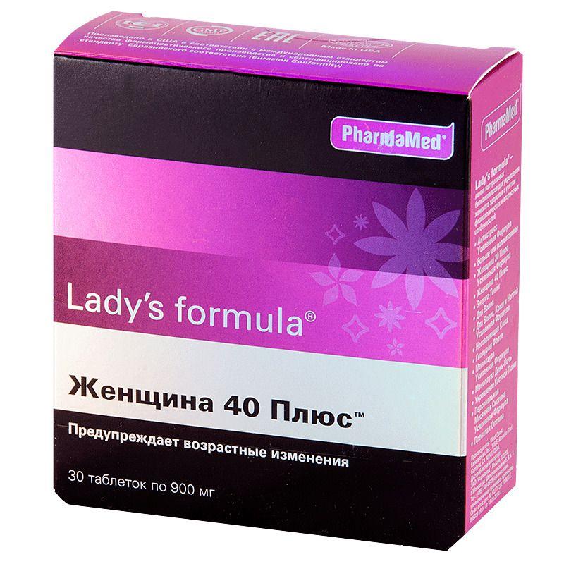Lady's formula Женщина 40 плюс, 900 мг, таблетки, 30 шт.