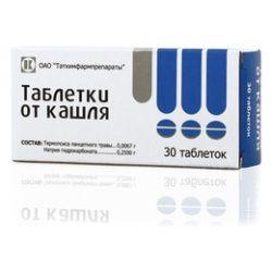 фото упаковки Таблетки от кашля