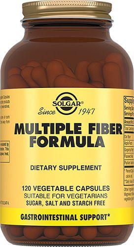Solgar Мульти формула пищевых волокон, капсулы, 120 шт.