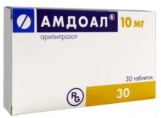 Амдоал, 10 мг, таблетки, 30 шт.