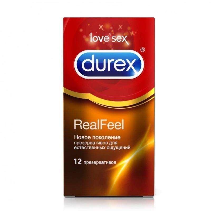 фото упаковки Презервативы Durex Real Feel