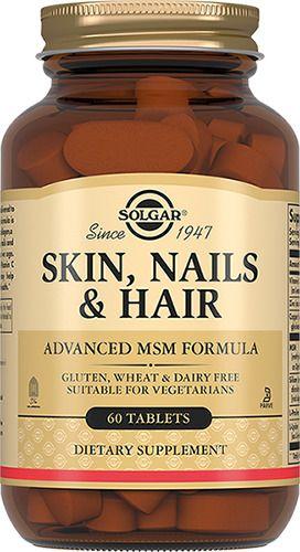 фото упаковки Solgar Таблетки для кожи, ногтей и волос