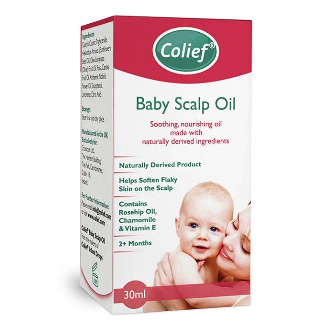 фото упаковки Colief Baby Scalp Oil Колиф масло от корочек на голове младенца