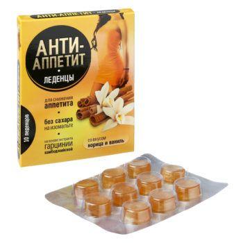 фото упаковки Анти-Аппетит Корица и ваниль