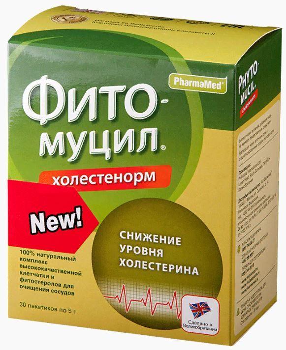 фото упаковки Фитомуцил Холестенорм