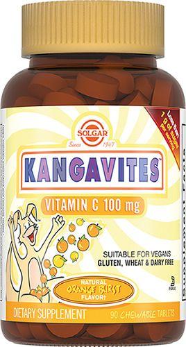 фото упаковки Solgar Кангавитес с витамином С