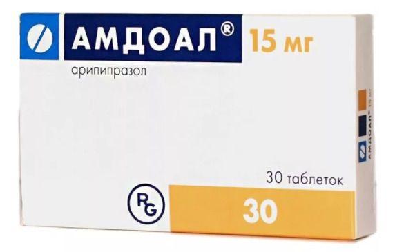 Амдоал, 15 мг, таблетки, 30 шт.