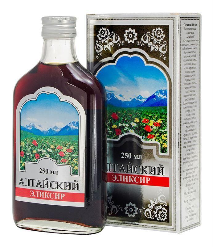 фото упаковки Алтайский эликсир