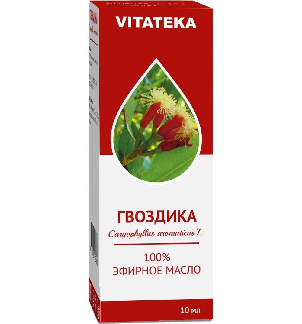 фото упаковки Витатека Масло Гвоздики эфирное