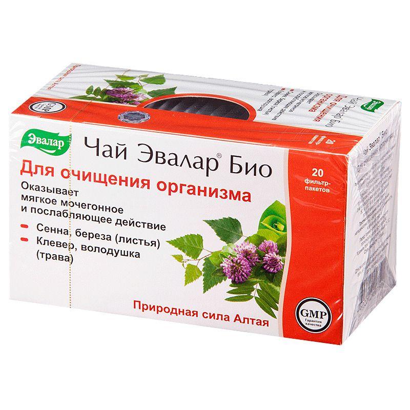 фото упаковки Чай Эвалар Био Для очищения организма
