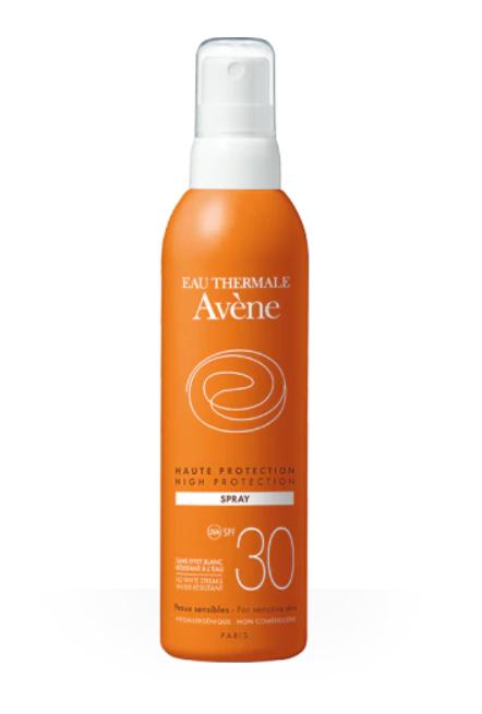фото упаковки Avene солнцезащитный спрей SPF30