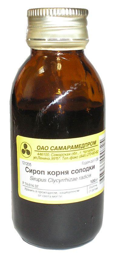 фото упаковки Солодки корня сироп