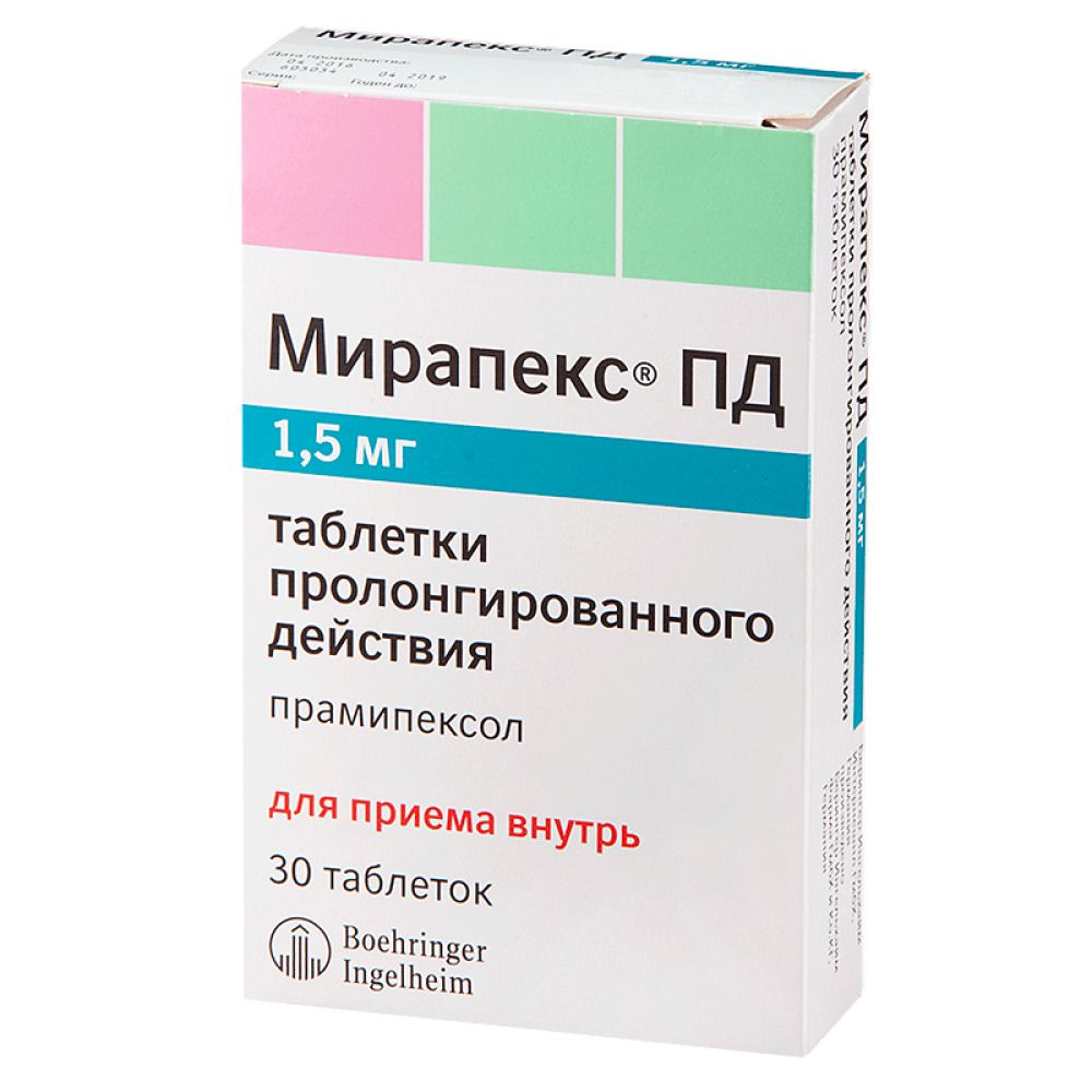 фото упаковки Мирапекс ПД