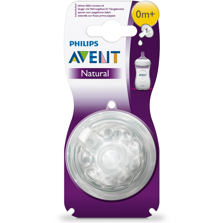 фото упаковки Соски Philips Avent Natural для новорожденных