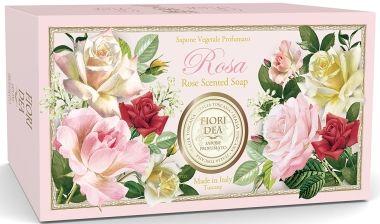 фото упаковки Fiori Dea Мыло туалетное Роза