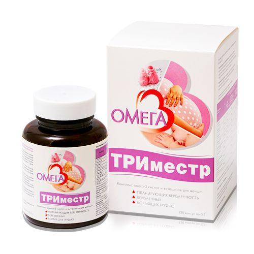 фото упаковки Омега-3 Триместр