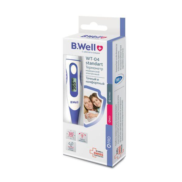 Термометр медицинский электронный WT-04 standart, 1 шт.