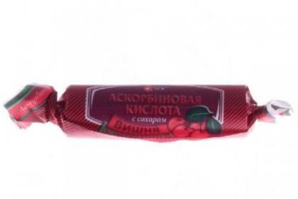 фото упаковки Аскорбиновая кислота с сахаром Квадрат-С