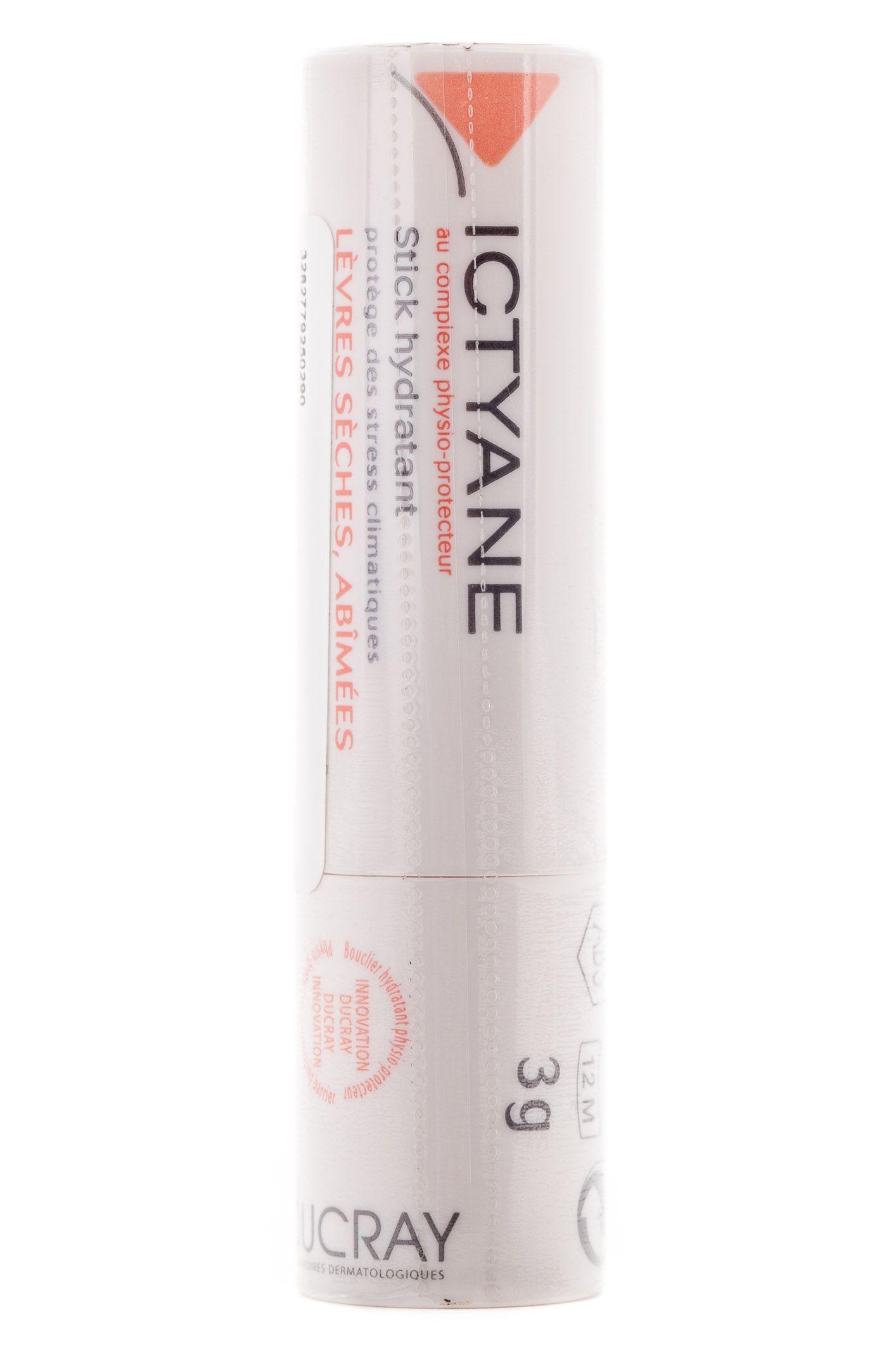 Ducray Ictyane стик для губ увлажняющий, помада, 3 г, 1 шт.
