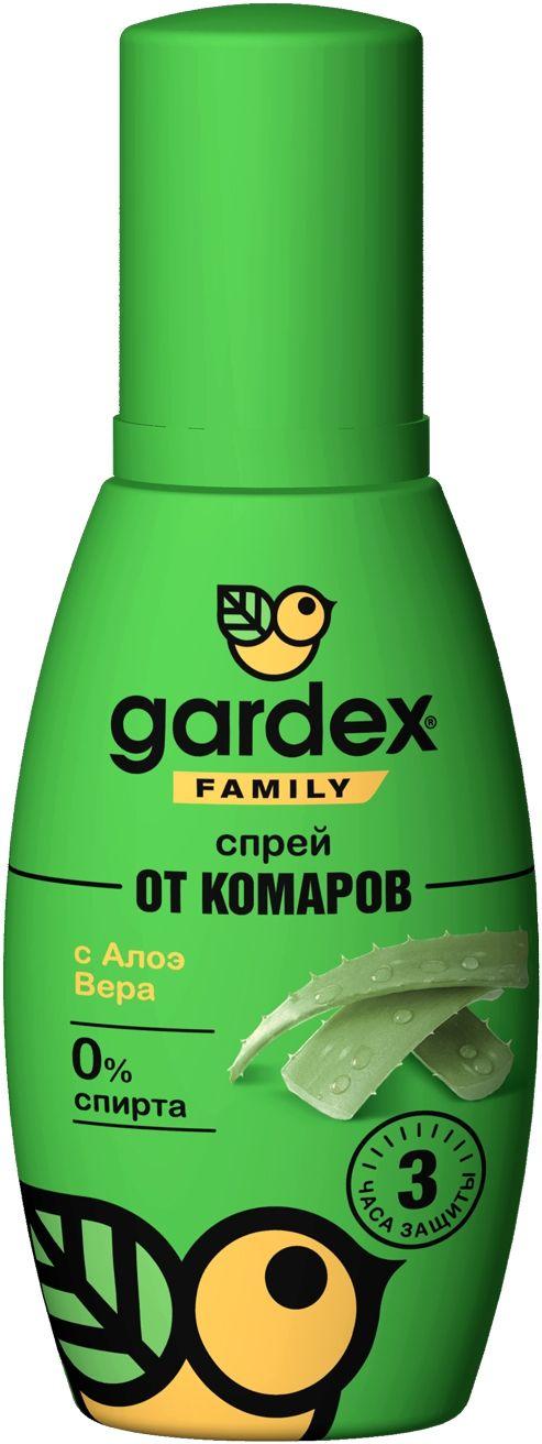 фото упаковки Gardex Family Спрей от комаров