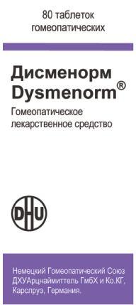 Дисменорм, таблетки для рассасывания гомеопатические, 80 шт.