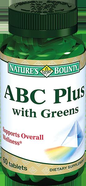 фото упаковки Natures bounty ABC Плюс Гринс