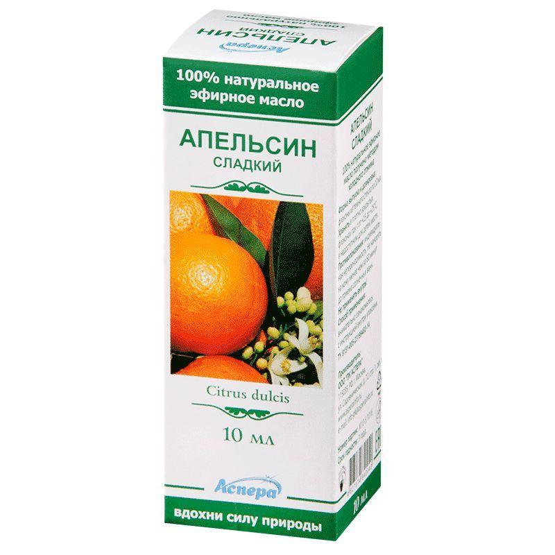фото упаковки Масло эфирное Апельсин