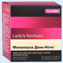 Lady's formula Менопауза День-Ночь, таблеток набор, 60 шт.